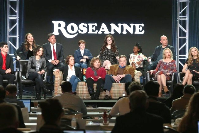Donald Trump praises Roseanne for reboot ratings