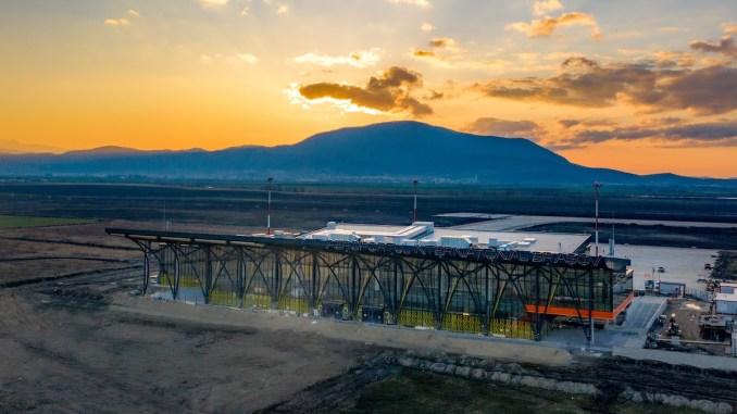 Aeroportul Internațional Brașov. FOTO Facebook AIB