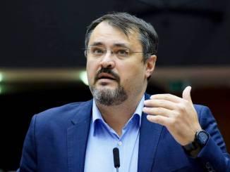 Cristian Ghinea, Ministrul Investițiilor și Proiectelor Europene. FOTO Parlamentul European