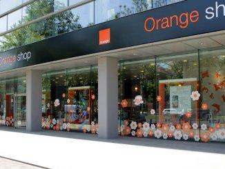 Orange Shop. FOTO Orange