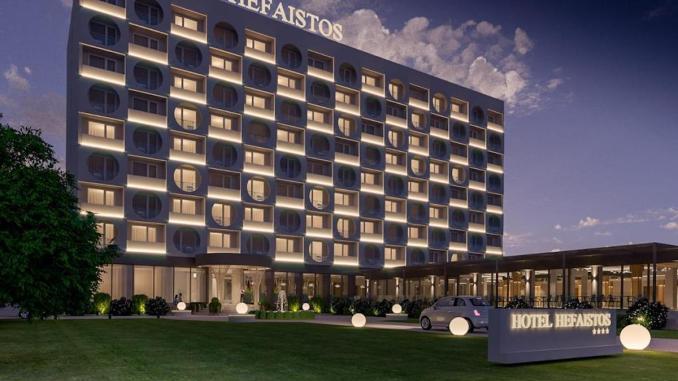 Hotel Bacolux Hefaistos Eforie Nord, lansat în 2022. FOTO Bacolux