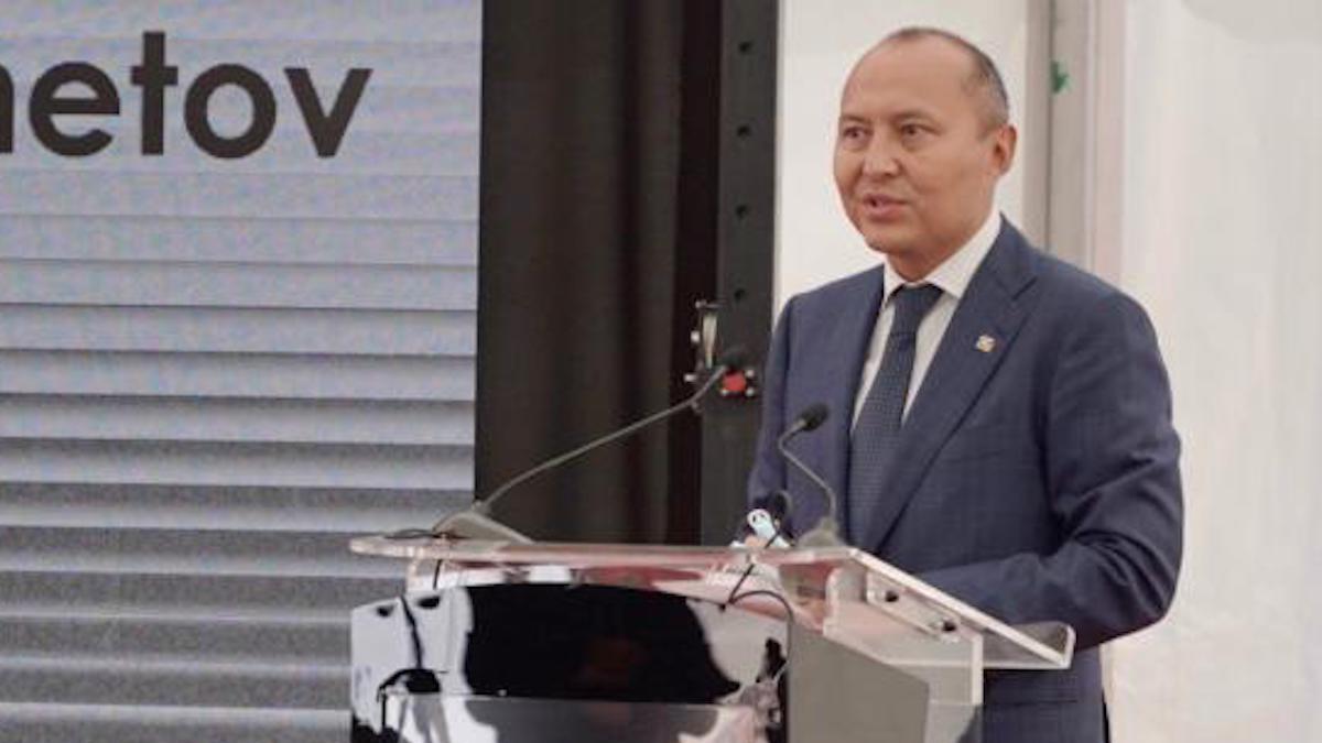 Beimbet Shayakhmetov, Directorul General al KMG International. FOTO Rompetrol