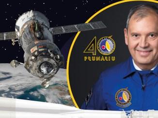 Dumitru Prunariu aniversează 40 ani de la zborul său în spațiu. FOTO Innovation Travel