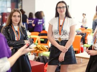 O parte dintre fetele înscrise la Technovation. FOTO MediaLab / ADFABER