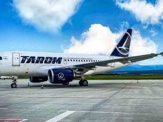 Aeronavă TAROM. FOTO TAROM