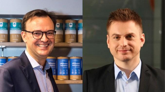 Augustin Becquet și Grégoire Vigroux. FOTO Define PR