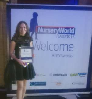 Teresa Hunter - Online and Social Media Award 2017
