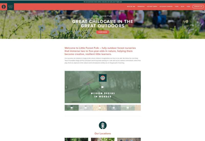 Little Forest Folk - Website Management and Social Media