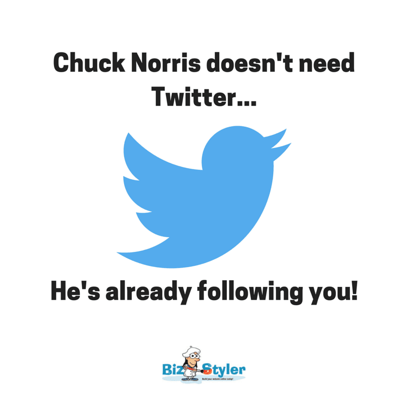 Chuck Norris Twitter Joke