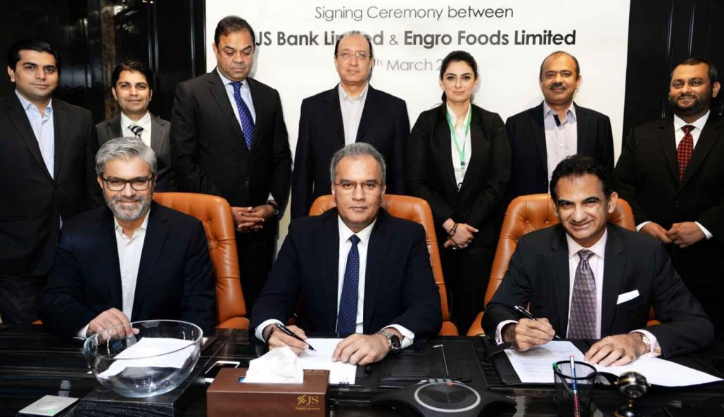 Engro Foods Limited inks MOU with JS Bank to empower Dairy