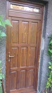 Erzsébetfalva fa bejárati ajtócsere