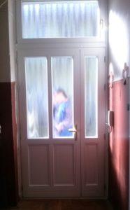 Jánoshegy fa bejárati ajtócsere