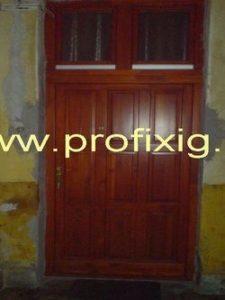 Kaszásdűlő fa bejárati ajtócsere