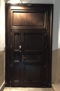 Pestszentimre fa bejárati ajtócsere