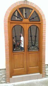 Újpest fa bejárati ajtócsere