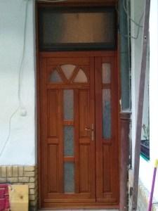 Erzsébetváros fa bejárati ajtócsere