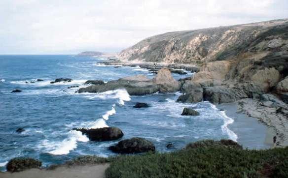 beautiful Eureka coastline