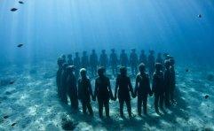 Sculture sottomarine di Jason deCaires Taylor