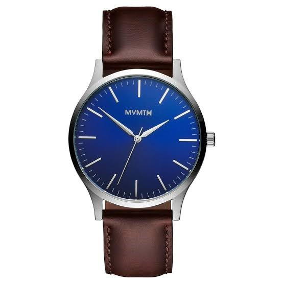 A Classic Leather Watch for Him