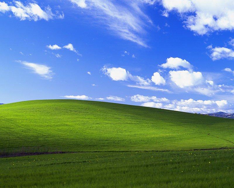 Bucolic Green Hills