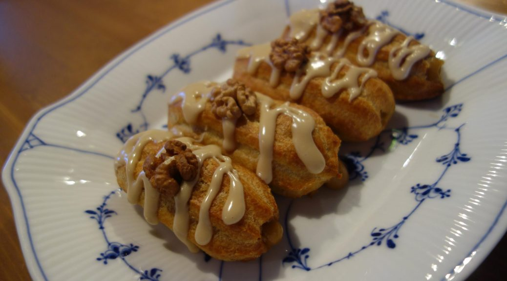 Mocca eclairs