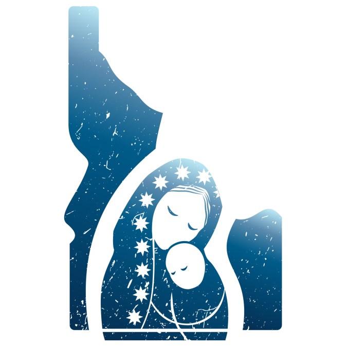 Idaho Council of Catholic Women Logo
