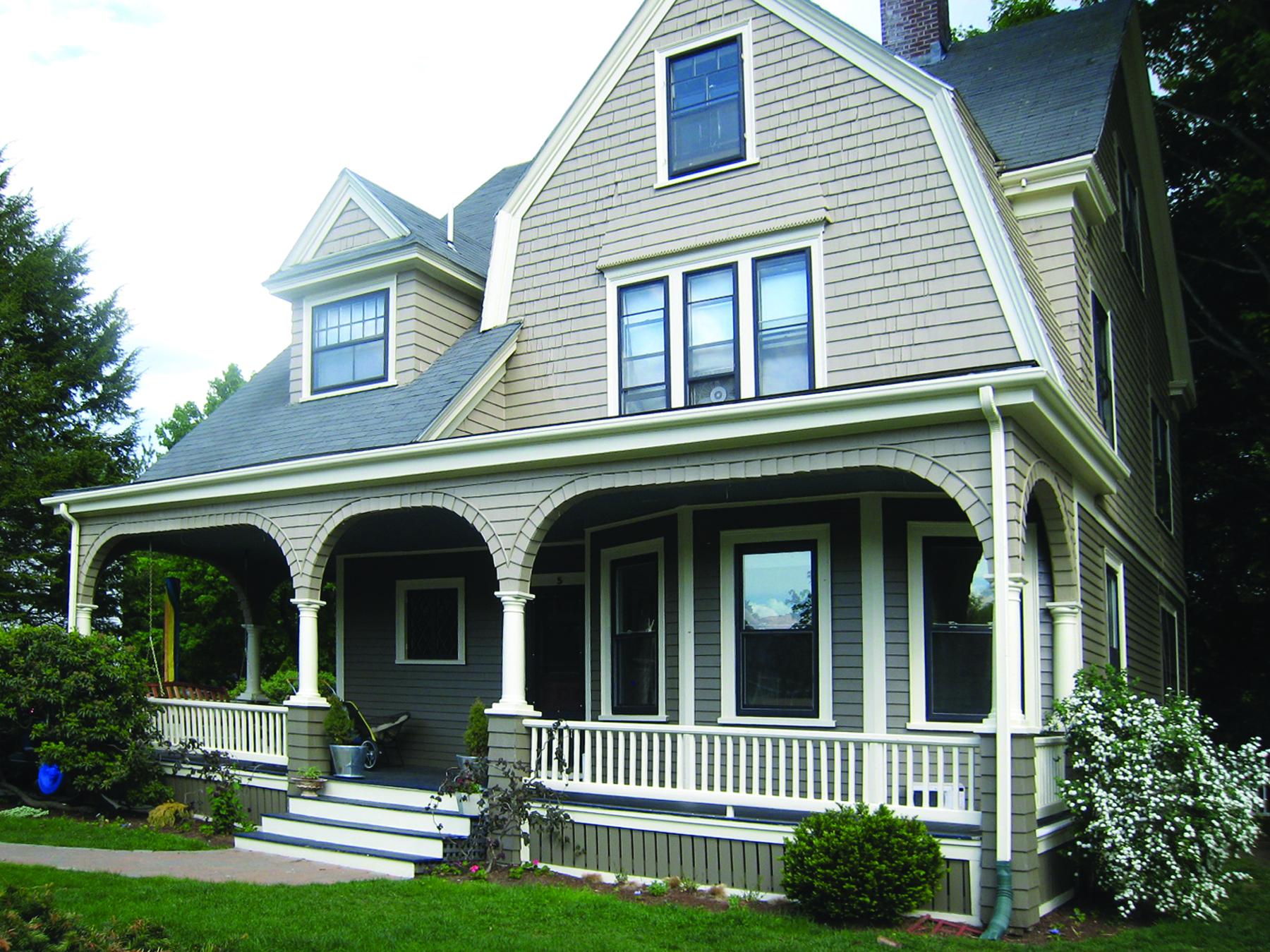 Color design - Victorian exterior - classic