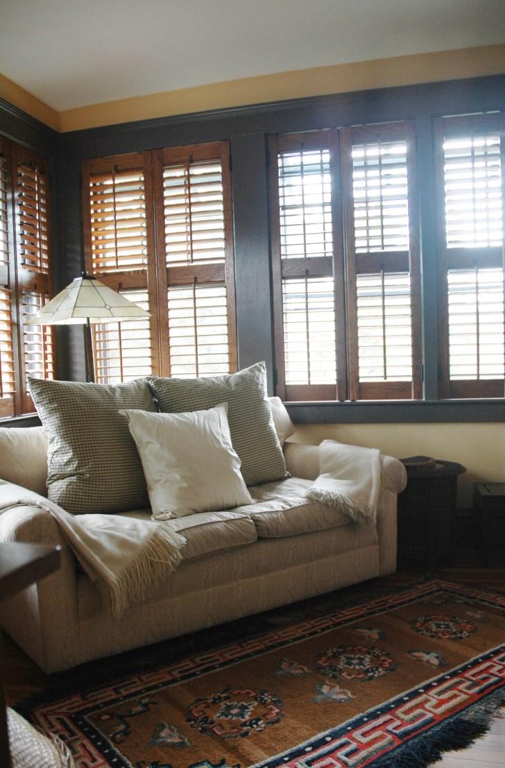 Color design - Arts and Crafts interior