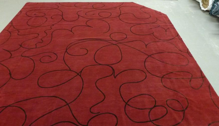 Hand Knotted custom Tibetan rug
