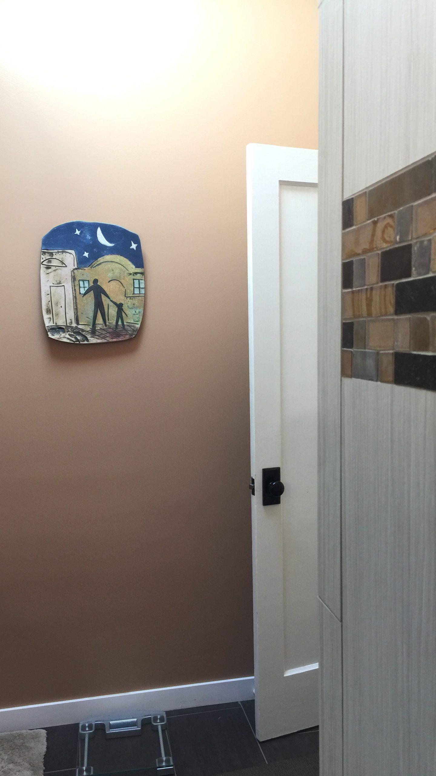 interior color, master bathroom