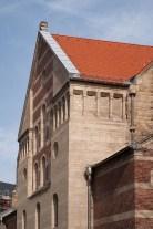 Aufbau der im 2. Weltkrieg zerstörten St. Maternus Kirche, Köln-Südstadt