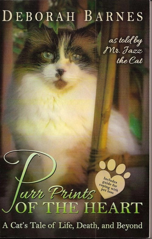 Deborah Barnes new book, Purr Prints of the Heart
