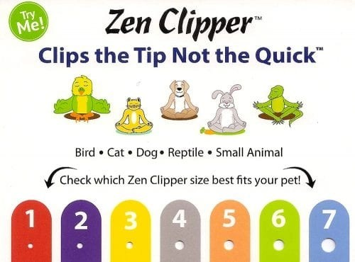 Zen Clipper clips tips of cat's claw, not the quick