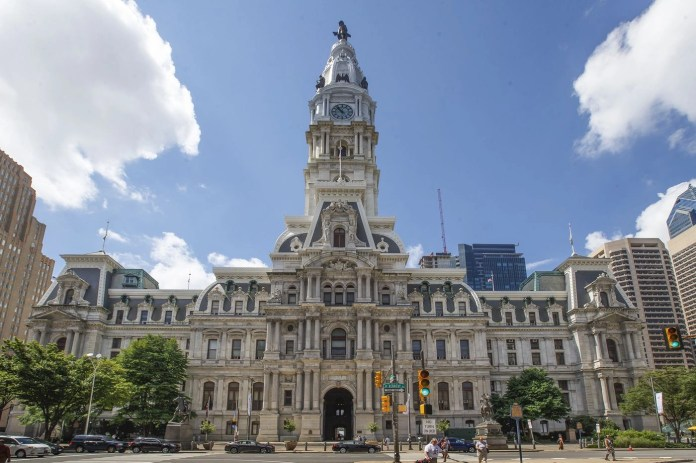 Photo of Philadelphia City Hall, a cat tourism attraction.