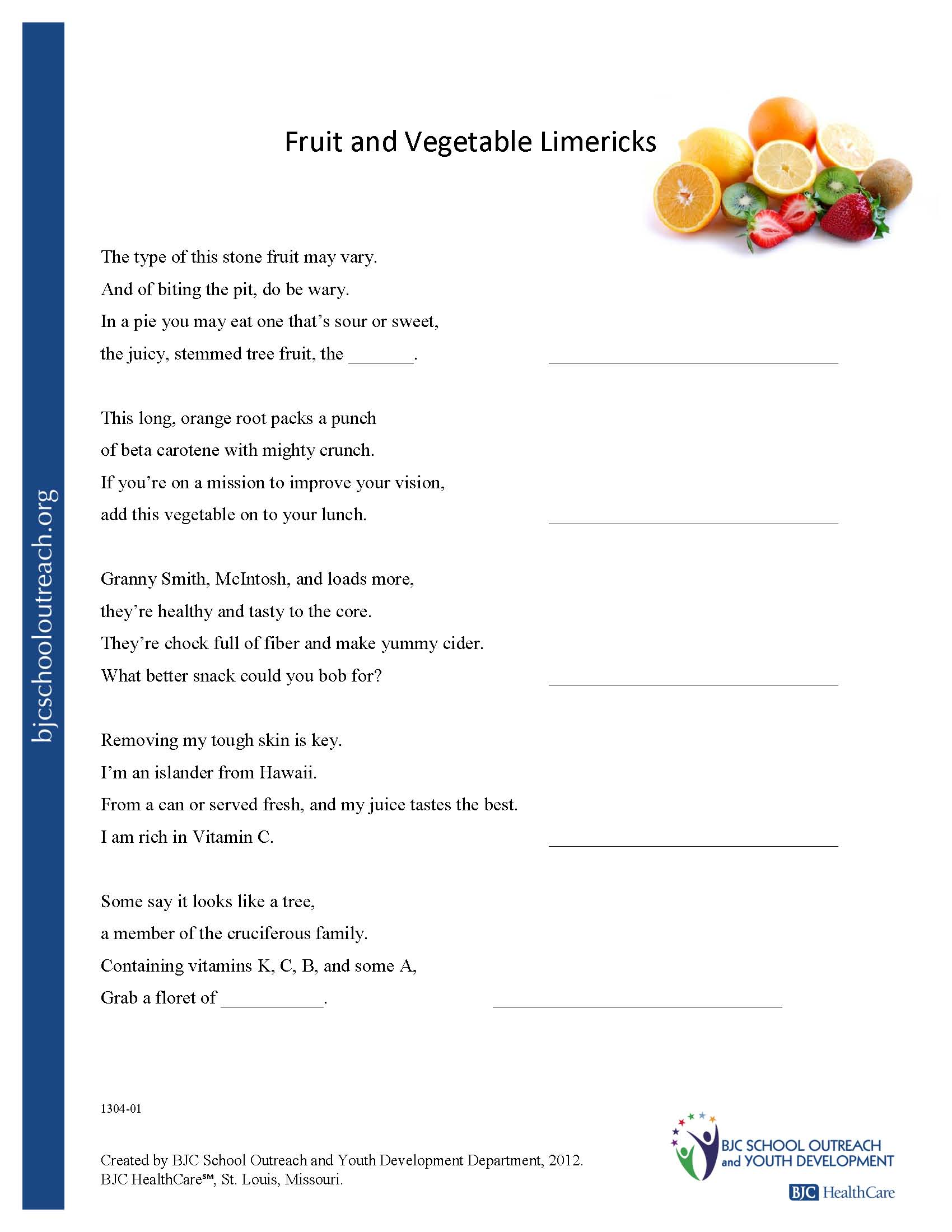 Printable Worksheets