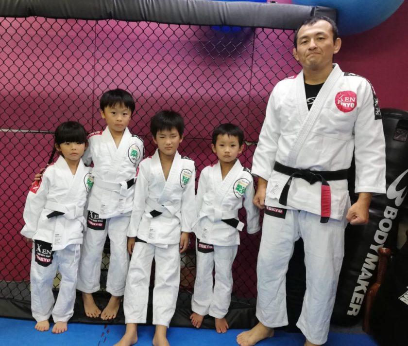 キッズブラジリアン柔術小金井教室低学年クラス
