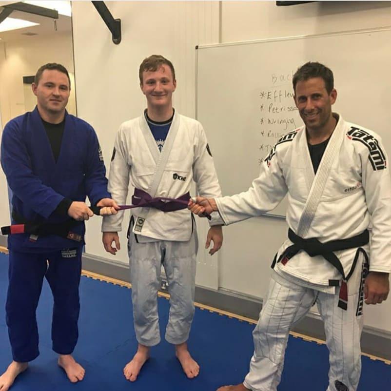 Luke Buchanan - BJJ Purple Belt - BJJ School Belfast