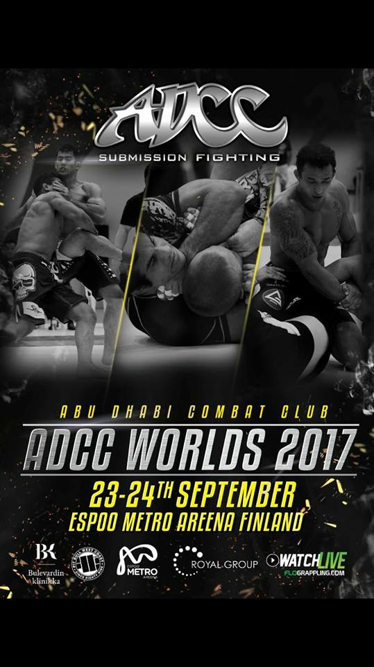 ADCC Worlds 2017 update: Marcio Andre out of -66kg division, Mario Rinaldi out of +99 kg division