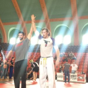 Victory On The Mats For Lucas