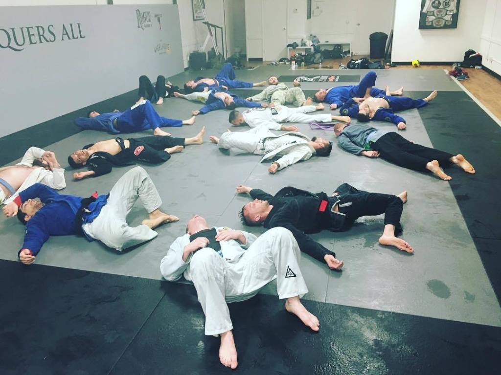 Exhausted After Jiu Jitsu Training