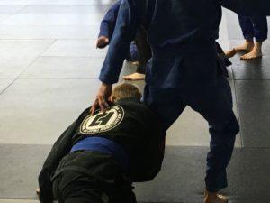 Jiu Jitsu Single Leg Close Up