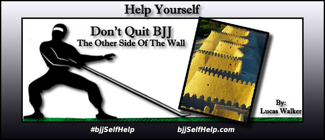 """Don't Quit BJJ – """"The Other Side Of The Wall"""""""
