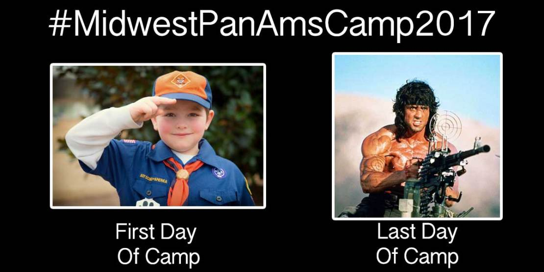 2017 Midwest Pans Camp From Cub Scout To Rambo