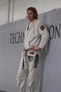 Lucas Walker In Jiu Jitsu Class