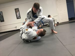 Matthew Lowry Training Hard To Get Better At Jiu Jitsu