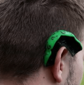 BJJ Mouthguard Hanging On Ear