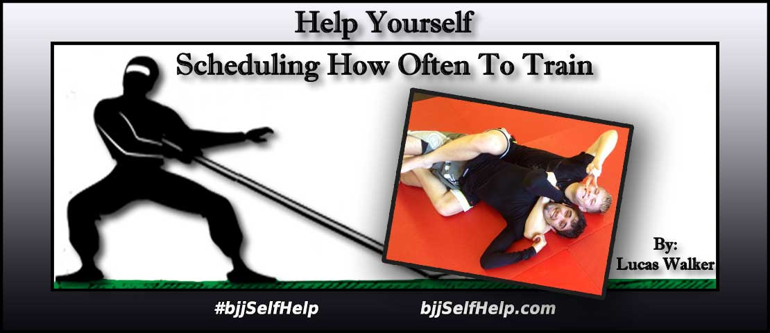 How Many Days Per Week Should I Train Jiu Jitsu?   BJJ Self Help Blog