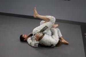 Lucas Walker Working Twister Roll Against Javier