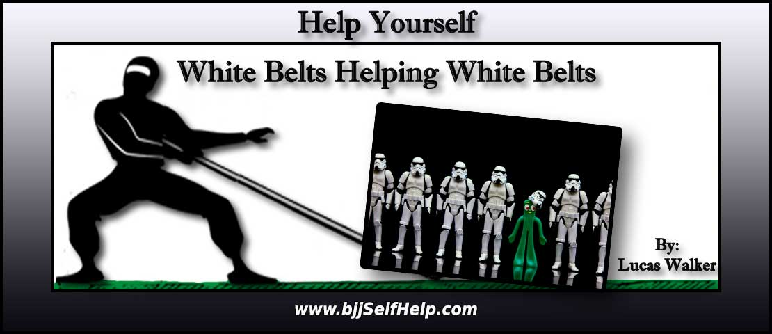 White Belts Teaching Other White Belts