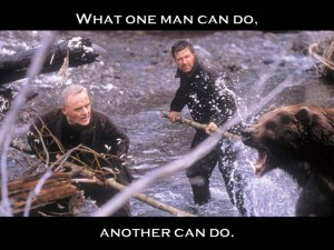 What One Man Can Do Another Can Do Scene From The Edge